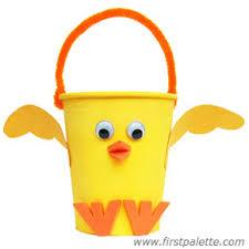Paper Cup Flower Basket