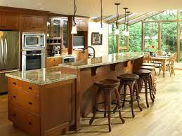 kitchen island with sink and seating dimensions splash guard