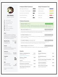 One Page Resume Best Example Download