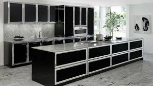modele cuisines modele cuisine noir et blanc modele cuisine blanc laque modele