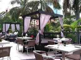 Outdoor Restaurant Seating Furniture