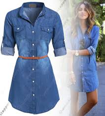 jeans dresses for ladies oasis amor fashion