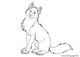 Wolf Coloring Pages Free Page Blueoceanreef