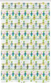 abakuhaus duschvorhang badezimmer deko set aus stoff mit haken breite 120 cm höhe 180 cm lustige ananas glasses kaufen otto