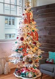 Flocked Artificial Christmas Trees Sale by Christmas Snowy Spruceocked Artificial Christmas Tree Treetopia