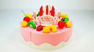 Play Doh Fruit Birthday Cake DIY Handcraft 4K Full HD