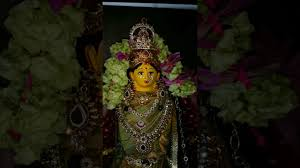 Varalakshmi Vratham Decoration Ideas by Goddess Varalakshmi Decoration Youtube
