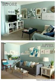 outstanding white and aqua living room walls in brown decor cream