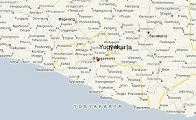 Yogyakarta Regional Map Local
