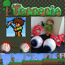 Terraria Chair And Table by 21 Best Terraria Party Images On Pinterest Terraria Birthday