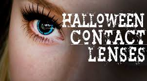 White Halloween Contacts Prescription by Halloween Coloured Contact Lenses How To Apply Contacts