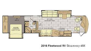 Fleetwood Bounder Floor Plans Colors 2016 Fleetwood Rv Discovery 40x For Sale In Loveland Co Lazydays