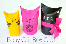 Cat TP Roll Gift Boxes A Super Cute Upcycled Project Come Wrap Idea