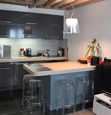 cuisine sur salon modele deco cuisine gallery of idee cuisine deco et idee de deco