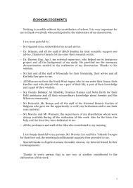 Acknowledgement Letter For Business Plan