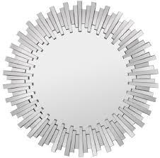 casa padrino luxus wandspiegel ø 100 cm moderner runder spiegel garderoben spiegel wohnzimmer spiegel barockgroßhandel de