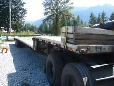 commercial truck trailers ebay
