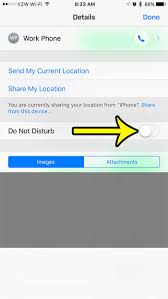 How to Turn f Do Not Disturb on an iPhone 7 Live2Tech