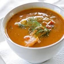soupe aux poissons de roche recettes de cuisine française