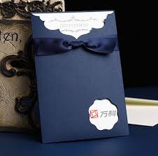 Royal Blue Coffee Gold Red 5 Colors 2016 Vintage Wedding Invitations Card Business 25pcs Lot Free Shipping In Cards From Home