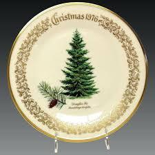 Lenox Christmas Plates Tree Fir Commemorative Plate Macys