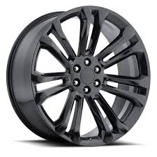 100 Oem Chevy Truck Wheels 26 2015 GMC 1500 Sierra Tahoe Silverado Gloss Black