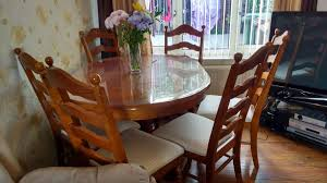 Oak Table And Chairs In WF1 Wakefield For £150.00 For Sale ... Different Aspects Of Oak Fniture All About Fniture And Mattress News Buying Guide Latest Trends Ding Room Table 4 Chairs In Bb7 Valley For 72500 Oak Table Leeds 15000 Sale Shpock With Chairsmeeting 30 Extendable Tables Commercial Used German Standard And Chair Sets Buy Fnituregerman The 1 Premium Solid Wood Furnishings Brand 6 Chairs Set White Rustic Farmhouse Natural Country Amazoncom Desks Childrens Study