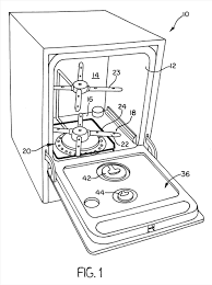 For A Google Modular Drip Pan And Component Mounting Patent Dishwasher Drawing Us