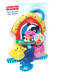 Amazon.com : Fisher-Price Farm Musical Mini-Mobile Toy ... Fisher Price Laugh And Learn Farm Jumperoo Youtube Amazoncom Fisherprice Puppys Activity Home Toys Animal Puzzle By Smart Stages Enkore Kids Little People Fun Sounds Learning Games Press N Go Car 1600 Counting Friends Dress Sis Up Developmental Walmartcom Grow Garden Caddy