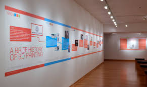 Display A Timeline Of Your Companys History With Removable Wall