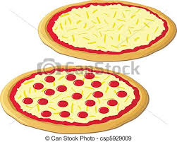 Two Delicious Cheese Pizzas e Cheese And e Pepperoni Pizza