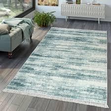 wohnzimmer teppich moderner vintage look farbverlauf print