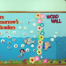 Classroom Wall Decor Decoration Ideas Elementary Best Collection