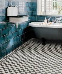 Attractive Black And White Tile Flooring In Floor Tiles Topps