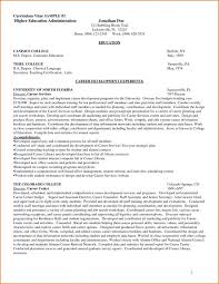 New 20 Higher Education Resume Samples Cv Cover Letter Good Include
