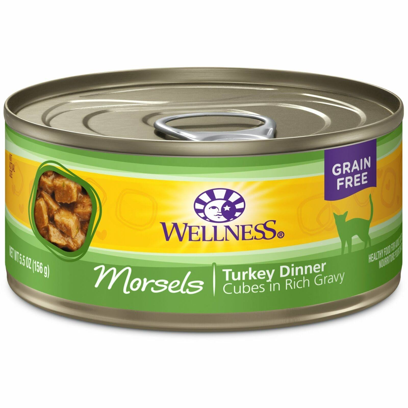 Wellness Grain Free Cat Food - Turkey Dinner