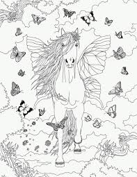 Coloriage Butterfly Dans Bella Sara Horse Coloring PagesColoring