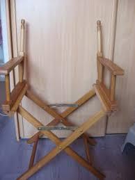siege metteur en comment retaper un vieux fauteuil de metteur en scène