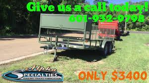 100 Truck Specialties 83 X 16 Load Trail Landscape Trailer Alpha