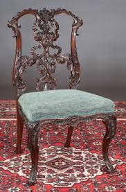 100 High Back Antique Chair Styles Irish Chippendale Style Mahogany Side Chair With Ribbon Carved Back