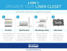 Bed Bath Beyondcom by Organize Your Linen Closet In 4 Steps Above U0026 Beyondabove