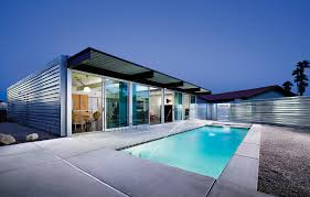 PS, I Love You: Modernism In The Desert, Part 2 The Glitz And Glamour Of Vegas Is Alive In The Tresarca House Marmol Radziner Desert Home Design Concrete Glass Steel Structure Hovers Above Arizona Desert This Modern Oasis By Hazelbaker Rush Perched On A Modern Kit Homes For Small Adobe Plans Types Landscaping Ideas Hgtv Wing Kendle Archdaily Minecraft Project Pinterest Sale Renowned Architect