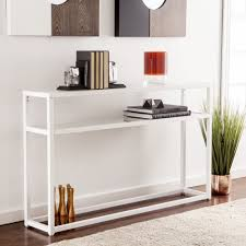 Narrow Sofa Table With Drawers by Bookcase Console Table Home Entrance Table Wicker Console Table