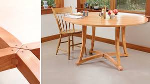 Dining Table Shows Off Its Joinery