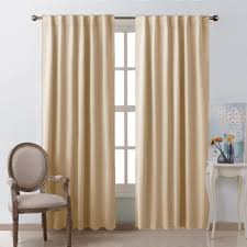 Eclipse Thermaback Curtains Smell by Amazon Com Window Treatment Room Darkening Curtains Warm Beige