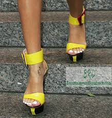 spotted rihanna in nyc rocking yellow heels entertainment rundown