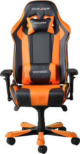 DXRacer King Series Black & Orange Gaming Chair / OH-KS06-NO Dxracer Office Chairs Ohfh00no Gaming Chair Racing Usa Formula Series Ohfd101nr Computer Ergonomic Design Swivel Tilt Recline Adjustable With Lock King Black Orange Ohks06no Drifting Ohdm61nwe Xiaomi Ergonomics Lounge Footrest Set Dxracer Recling Folding Rotating Lift Steal Authentic Dxracer Fniture Tables Office Chairs Ohks11ng Fnatic Shop Ohks06nb Online In Riyadh Ohfh08nb And Gcd02ns2 Amazoncouk Computers Chair Desk Seat Free Five Of The Best Bcgb Esports