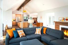 Modern Rustic Living Room Decorating Ideas Appealing Mid Century Within