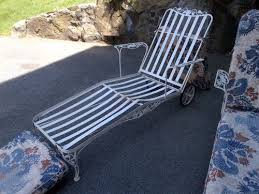 Ebay Chaise by Vintage Woodard Patio Loungers 2