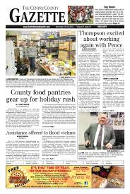 Stoltzfus Sheds Madisonburg Pa by Centre County Gazette November 23 2016 By Indiana Printing